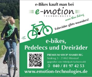 e-motion Technologies Hamburg Frau
