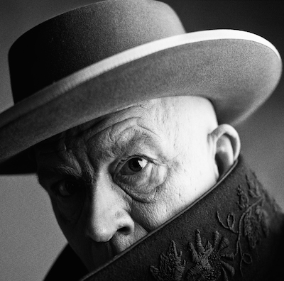 """""""Irving Penn : Irving Penn / Pablo Picasso, Cannes, France (1957)"""", 2014 (John Malkovich as Picasso). From the exhibition: """"Picasso in Contemporary Art"""", Deichtorhallen Hamburg, April 1 - July 12, 2015 ©Sandro Miller courtesy Catherine Edelman Gallery Chicago"""