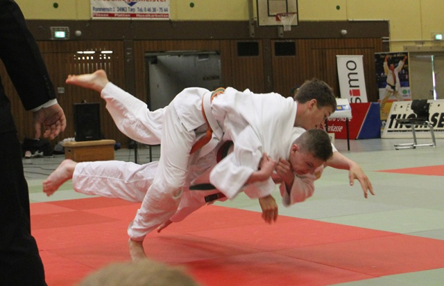 Die Judoka in Aktion. Foto: Judo-Club Ahrensburg