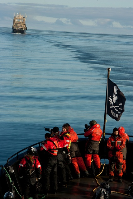 "Vortrag ""Sea Shepherd - Mission Meeresschutz"". Foto: Sea Shepherd"