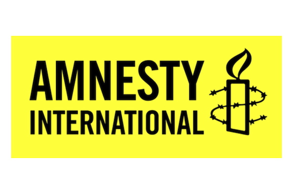 Logo der Organisation Amnesty International.