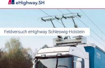 Screenshot der Internetseite www.ehighway-sh.de.