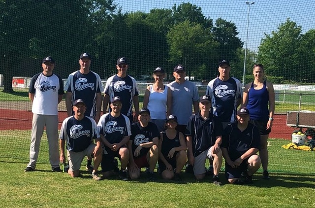 Baseball: 9. Norhern Slow Pitch Cup in Lütjensee. Foto: Lütjensee Lakers